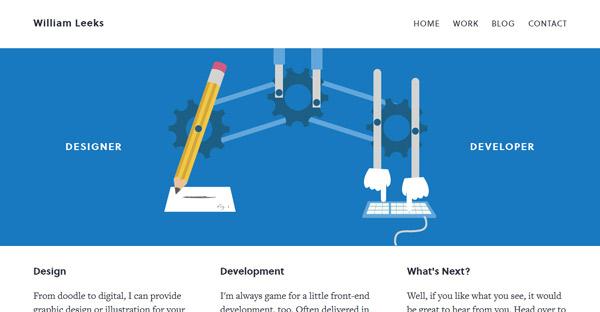 网站扁平化设计之趋势